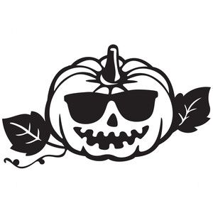 300x300 Silhouette Design Store Cool Pumpkin Sophie Gallo Design