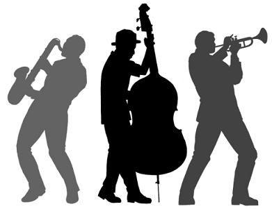 391x301 Silhouette Jazzy Jazz, Jazz Music And Newport Jazz