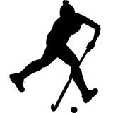 160x160 Ice Hockey Silhouette, Ice Hockey Player Goalie Clipart, Ice