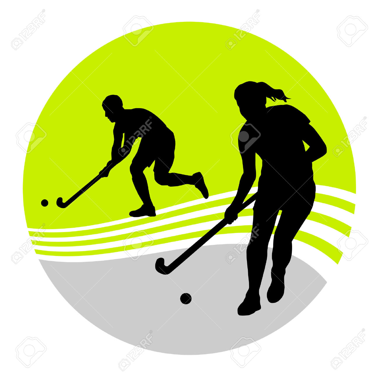 1300x1300 Sport Clipart Field Hockey