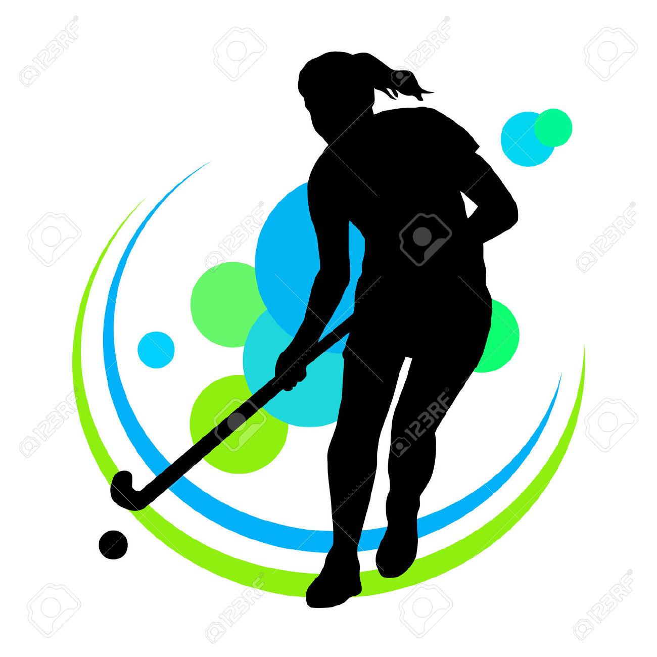 1300x1300 Usa Field Hockey Girl Clipart