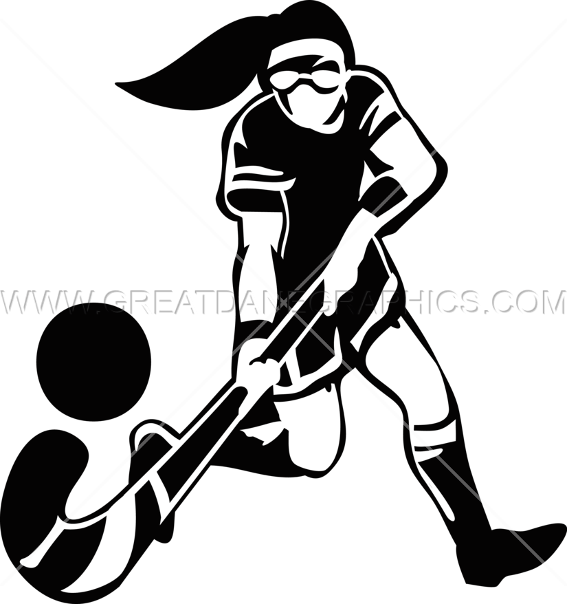 825x878 Female Field Hockey Production Ready Artwork For T Shirt Printing