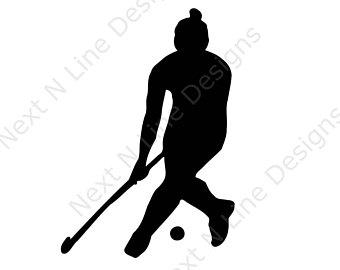 340x270 Field Hockey Decal Etsy