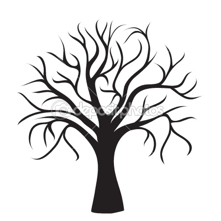 450x450 45 Best Trees Images On Silhouettes, Tree Drawings