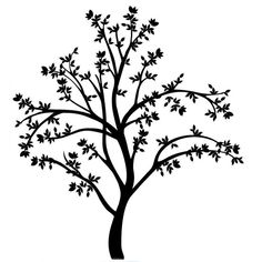 236x236 Tree Branch Silhouettes, Leaves + Branch Clipart, Tree Branch