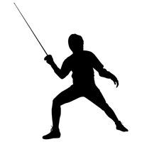 200x200 Man Men Guy Guys Human People Person Fencing Rapiers Sporty