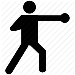 256x256 Boxer, Boxing, Fight, Fighting, Silhouette, Sports Icon Icon