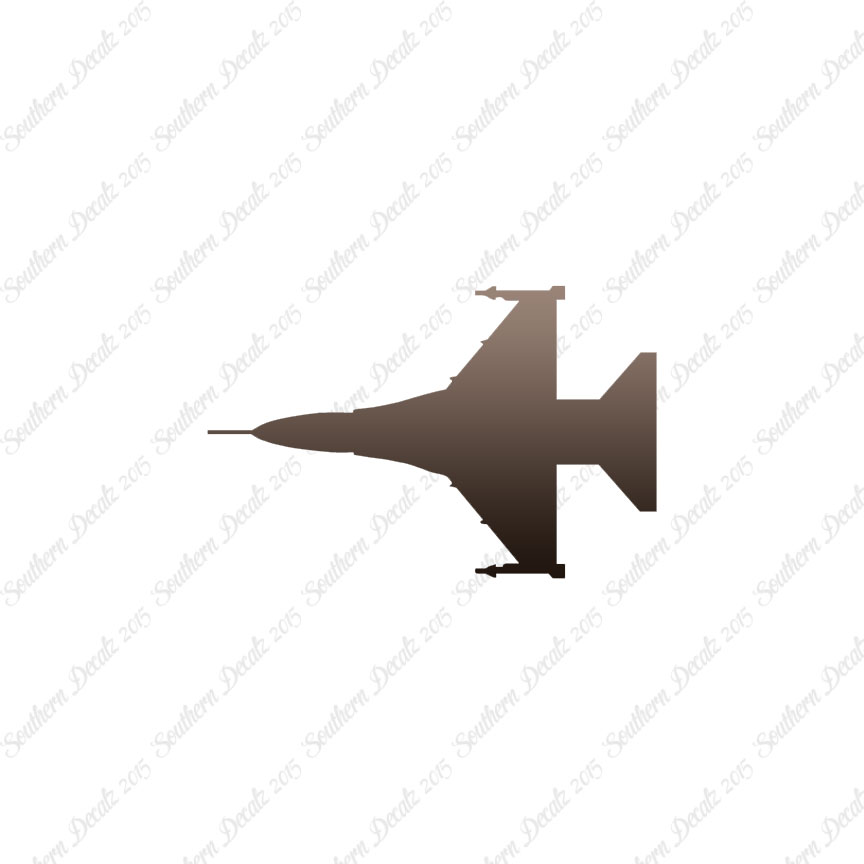 864x864 Fighter Jet Silhouette