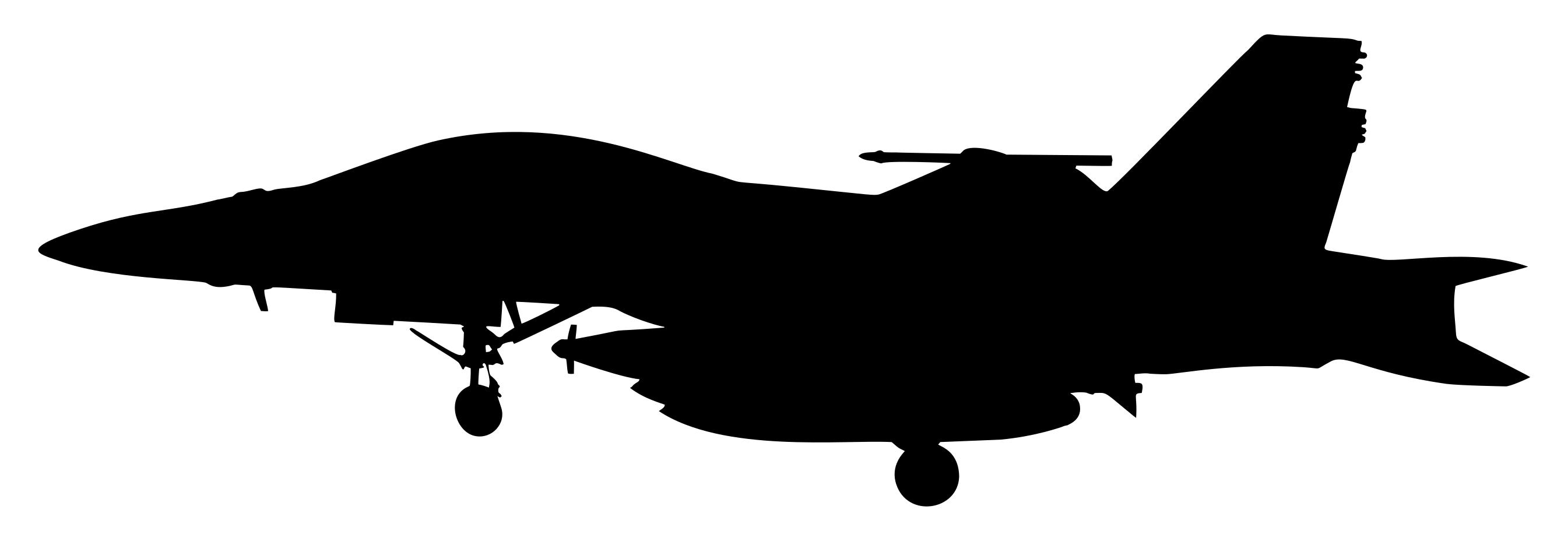 2690x928 Jet Fighter Silhouette Clipart