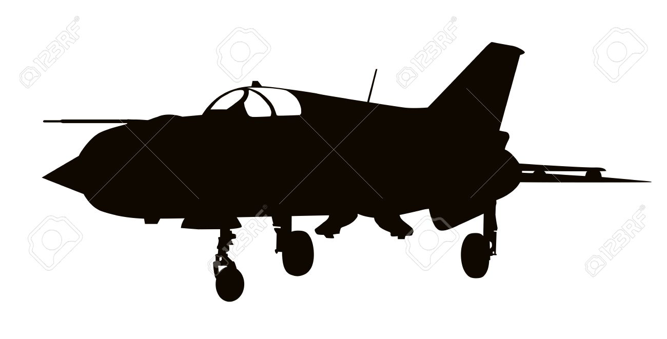 1300x661 Jet Fighter Clipart Silhouette