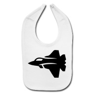 190x190 Jet Fighter Plane (Silhouette) By Azza1070 Spreadshirt