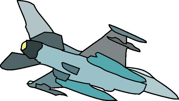 600x340 Military Plane Silhouette Clip Art