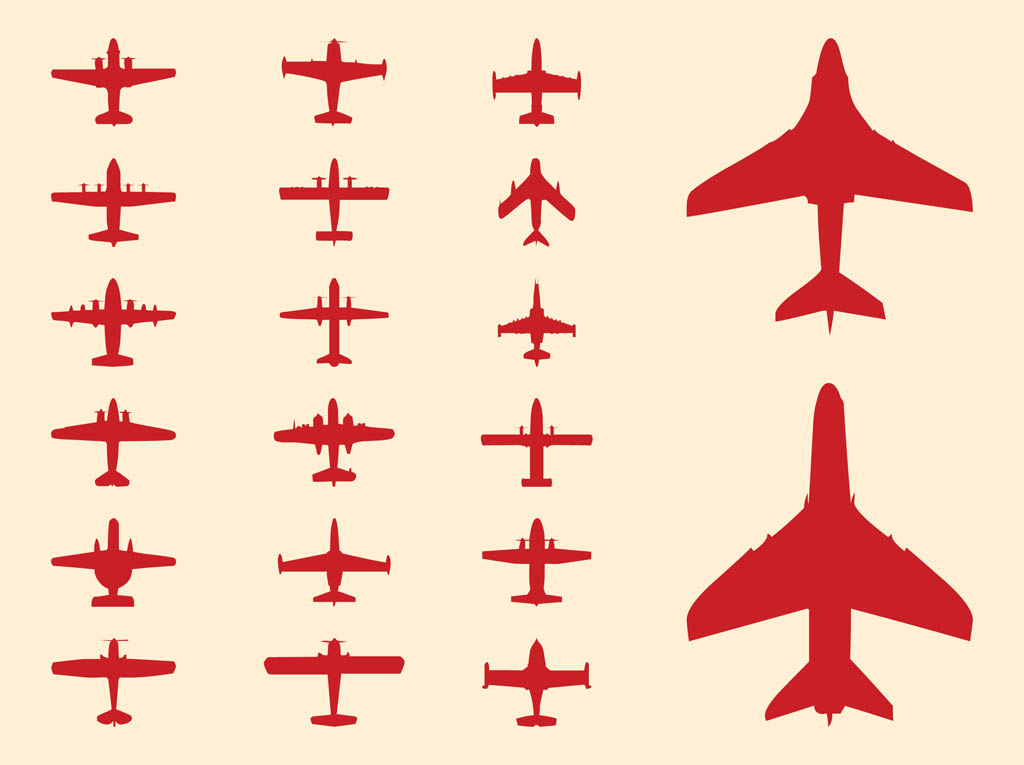 1024x765 Plane Silhouette