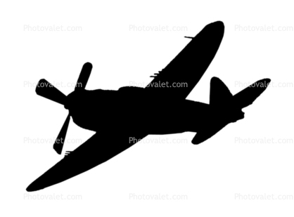 418x309 Wwii Aircraft Silhouettes