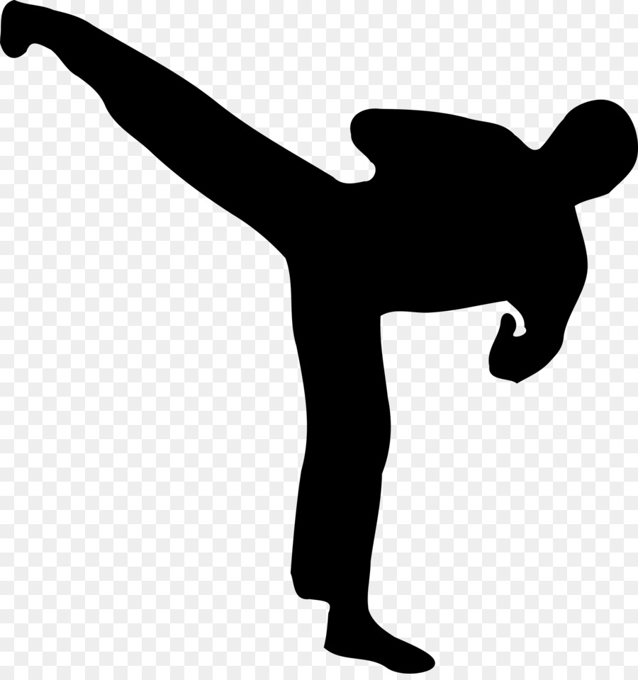 900x960 Kickboxing Silhouette Martial Arts Clip Art