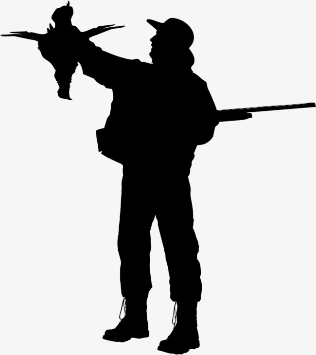 650x730 Black Armed Police Figure Silhouette, Black, Business, Silhouette