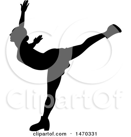 450x470 Royalty Free (Rf) Figure Skater Clipart, Illustrations, Vector