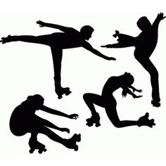 236x236 12 Figure Skating Silhouette Clipart Images, Clipart Design