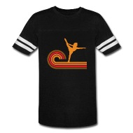 190x190 Retro Style Figure Skater Silhouette By Awesome Shirts Spreadshirt