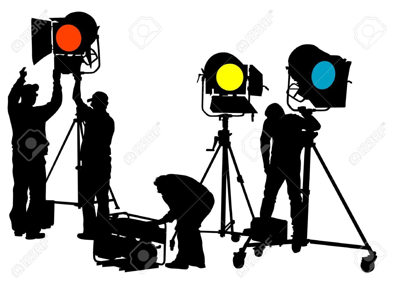 1300x918 Studio Clipart Stage Crew
