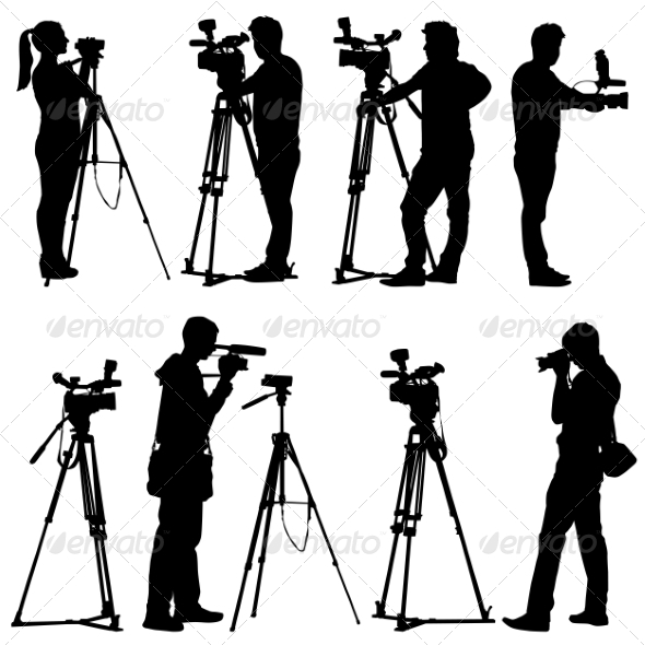 590x590 Camera Silhouettes By Aarrows Graphicriver