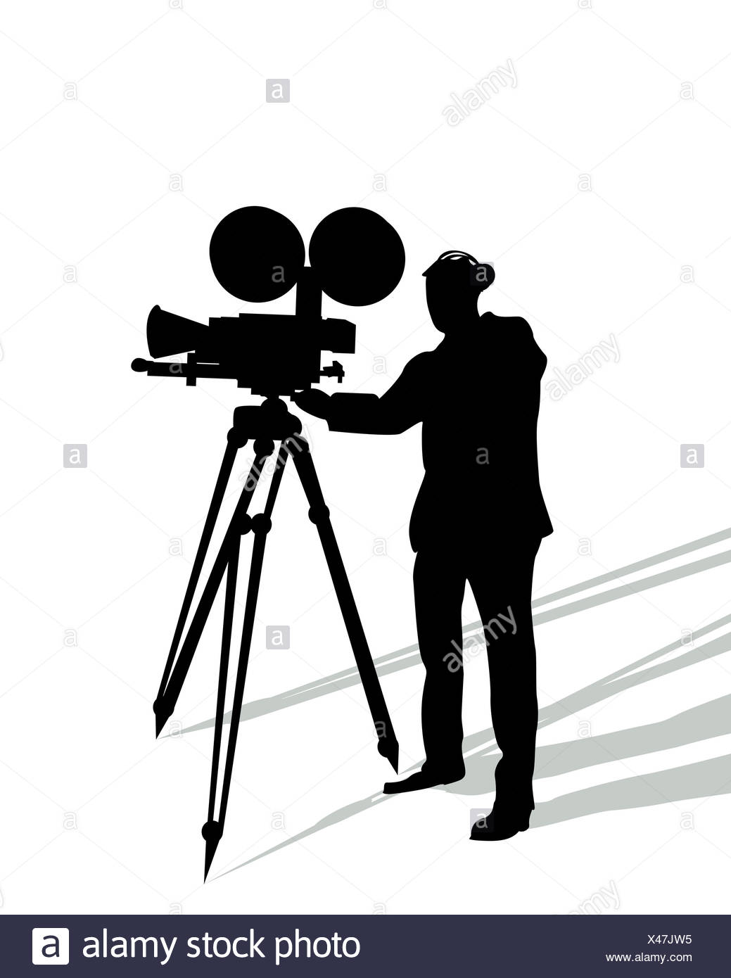 1039x1390 Professional Camera Outline Isolated Background Stock Photos