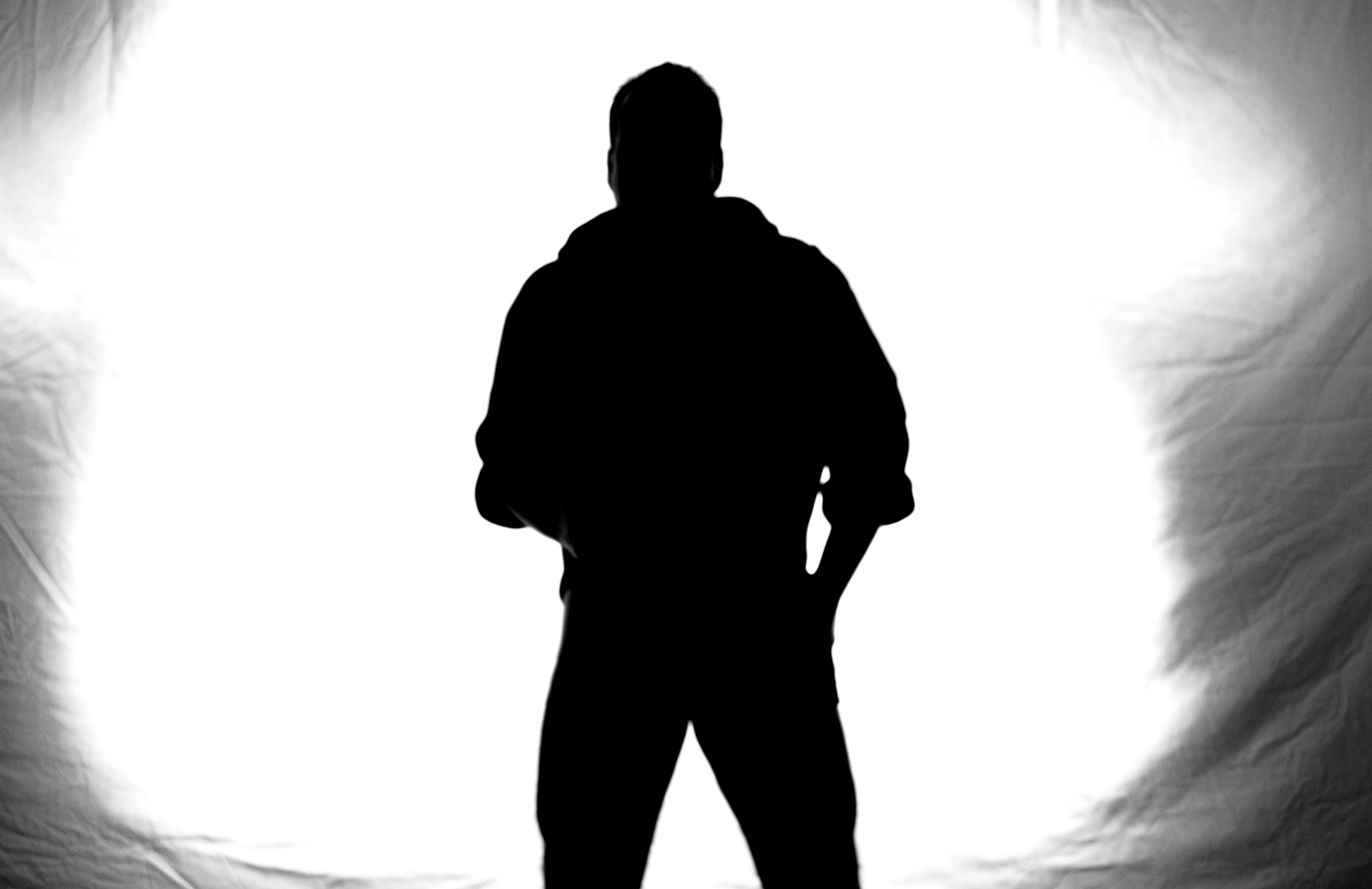 4792x3104 Free Images Hand, Man, Silhouette, Black And White, Dark, Male