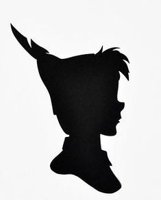 235x292 Peter Pan, Wendy, Michael And John Silhouettes. Free Jpg Or Svg