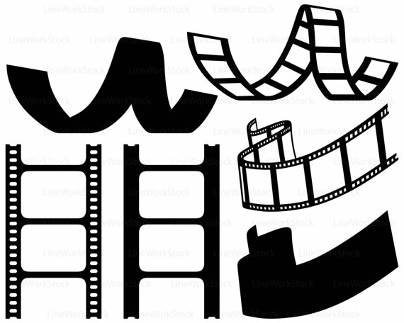 570x456 Reel Film Svgclipartreel Film Svgreel Silhouettefilm Cricut