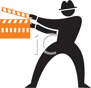 300x290 Black Silhouette Of A Man Directing A Film