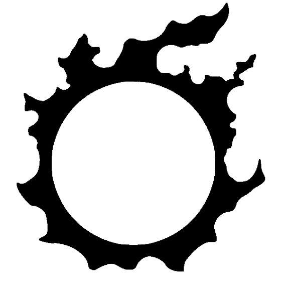 570x598 Final Fantasy Realm Reborn Icon Symbol Anime Decal