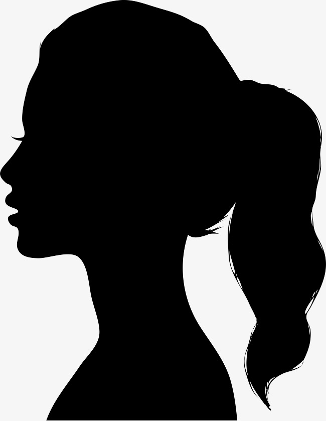 650x839 Woman Silhouette Material, Silhouette, Girl Silhouette, Character