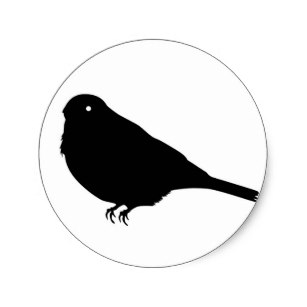 307x307 Finch Bird Silhouette Gifts On Zazzle