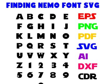 340x270 Finding Nemo Clipart Etsy