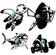 227x222 Image Result For Finding Nemo Silhouette Stencil