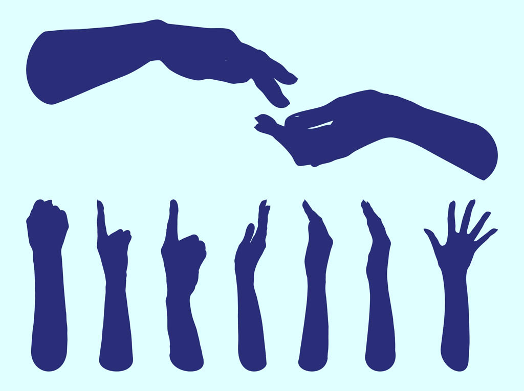 1024x765 Hands Silhouettes Graphics Vector Art Amp Graphics