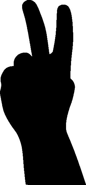 276x594 Peace Sign Clip Art
