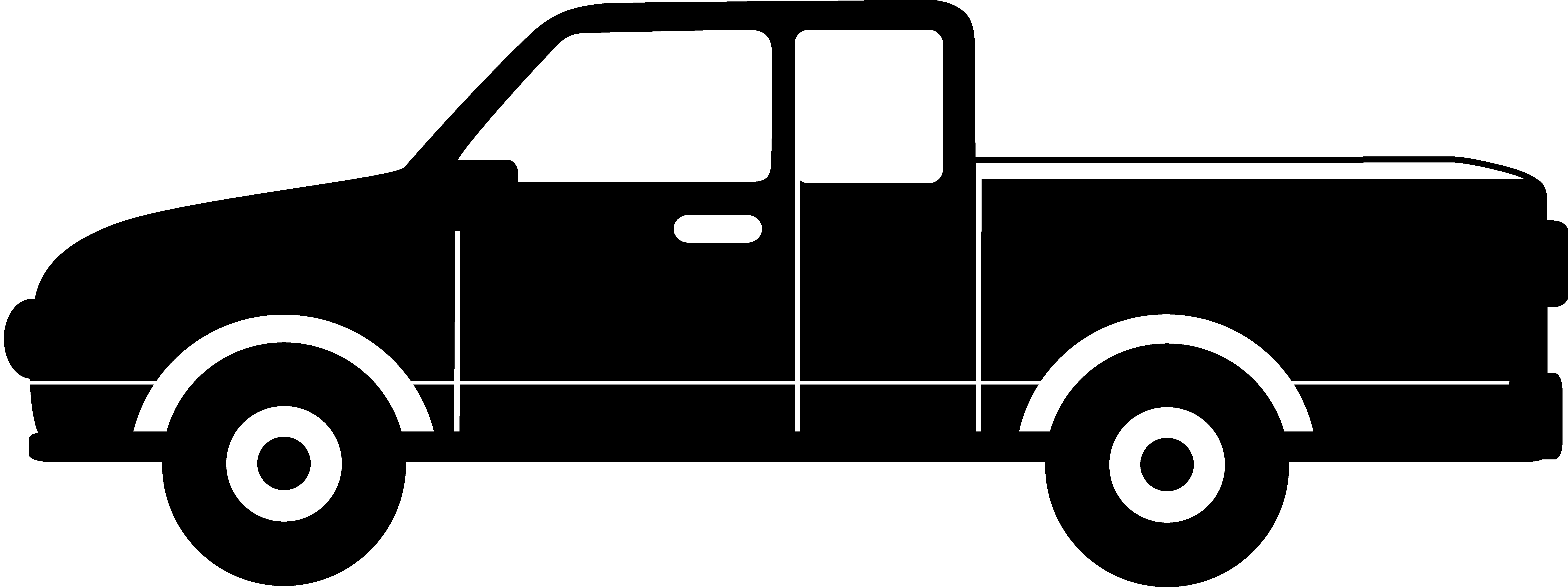 8572x3212 Pick Up Truck Clip Art Clipart Collection