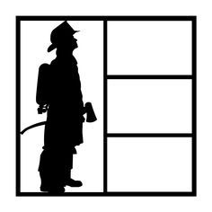 236x236 Firefighter Silhouette Silhouettes Firefighter