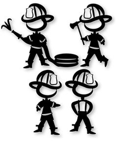 236x286 Firefighter Silhouette Clip Art