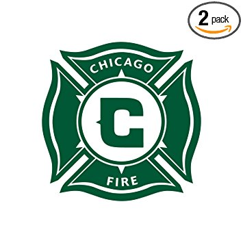 355x355 Mls Chicago Fire (Green) (Set Of 2)