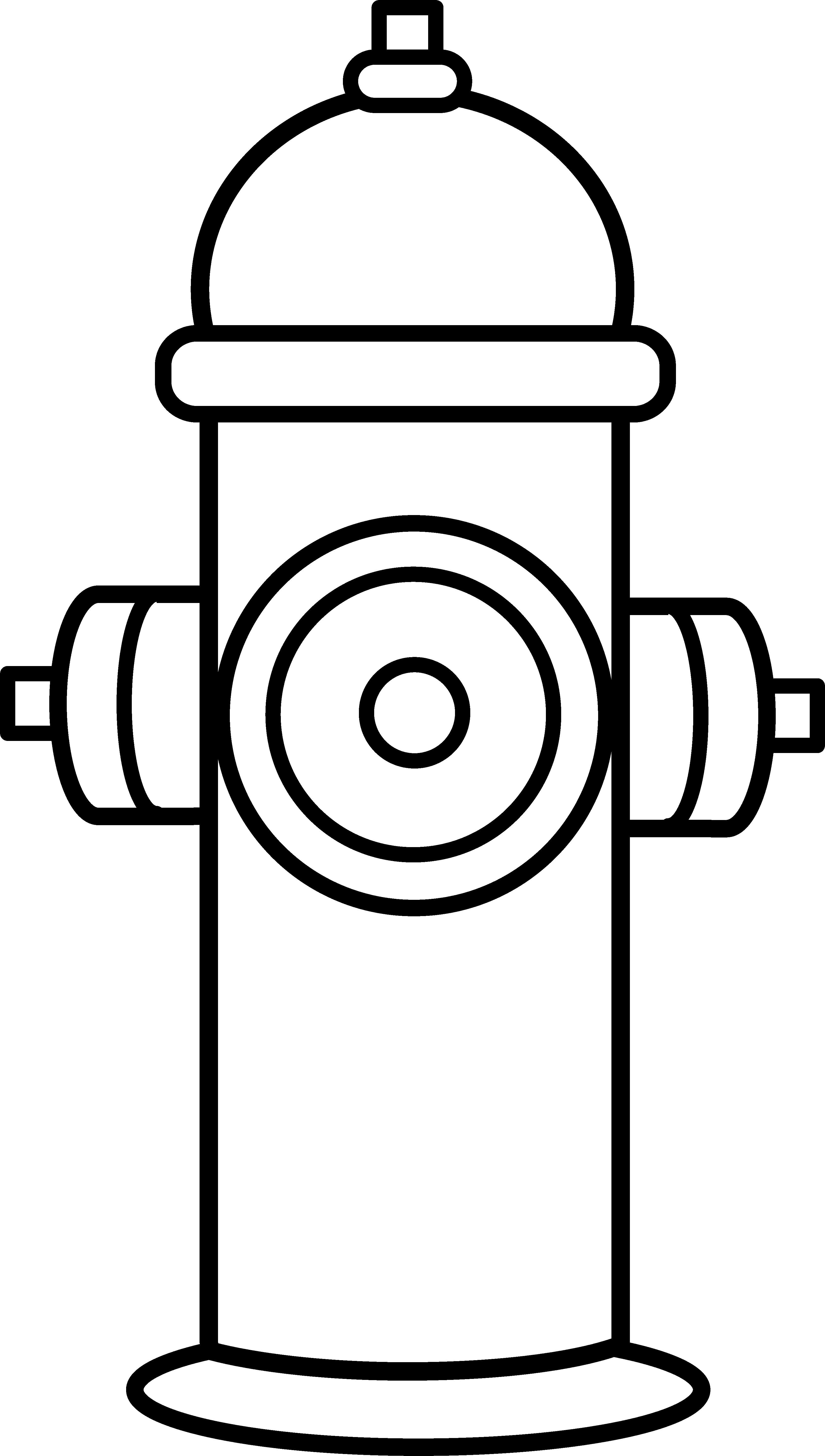 Fire Hydrant Silhouette At Getdrawings Free For Personal Use