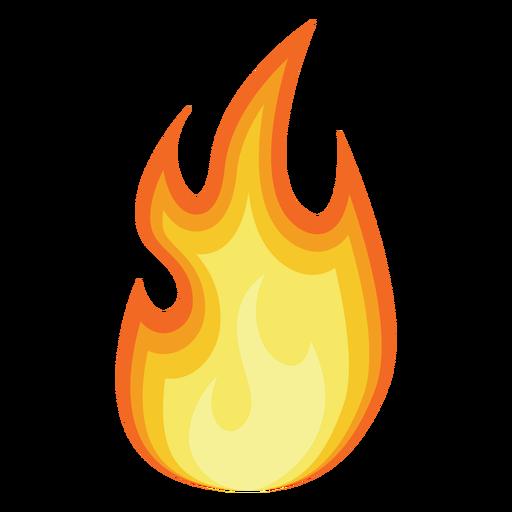 512x512 Fire Cartoon Silhouette Transparent Png