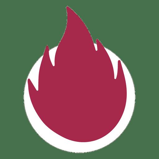 512x512 Fire Silhouette