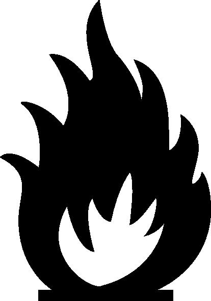 414x592 Sabathius Fire Warning Symbol Clip Art