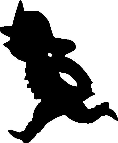 492x597 Cartoon Silhouette Clipart Cartoon Fire Fighter Clip Art