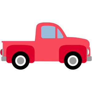 300x300 Old Truck Silhouette