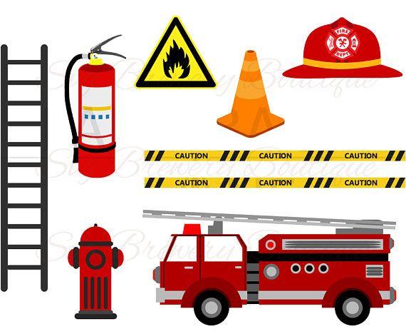 570x468 Fireman, Fire Truck, Svg (Layered), Png, Dxf For Cricut