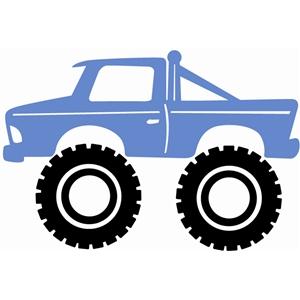 300x300 Monster Truck Clip Art