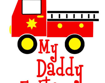 340x270 Fire Truck Silhouette Clip Art